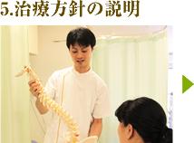 5.治療方針の説明